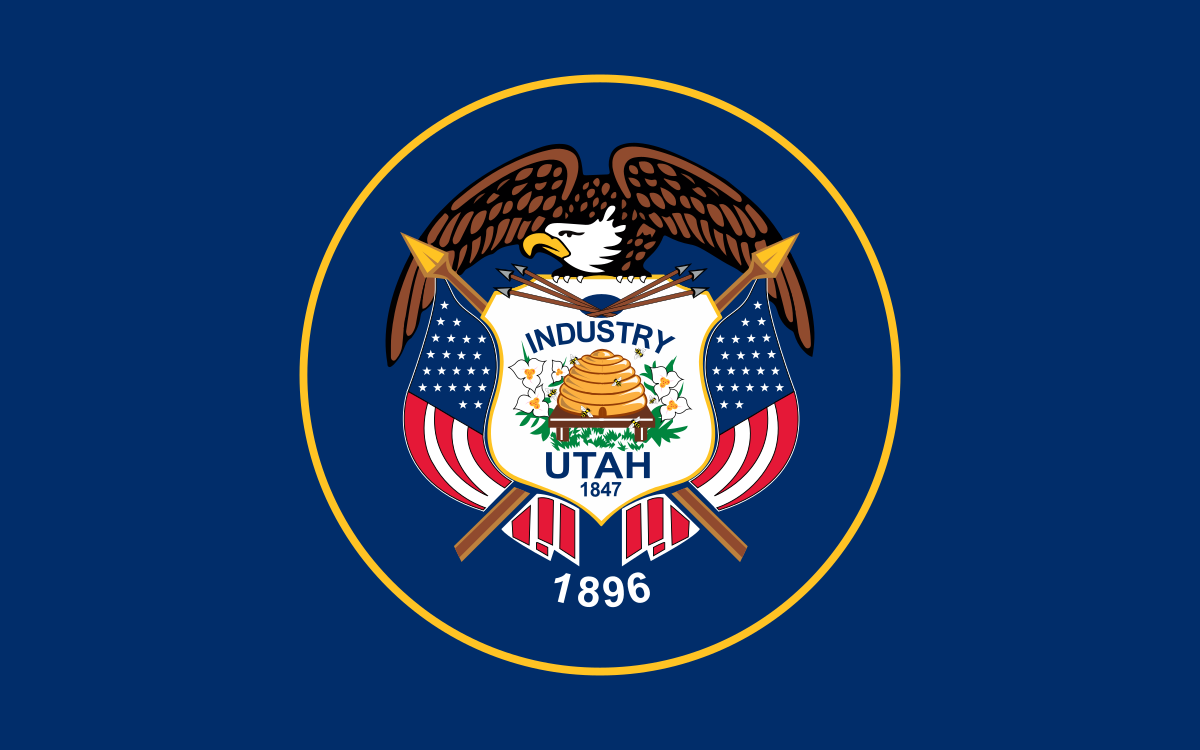Current flag of Utah