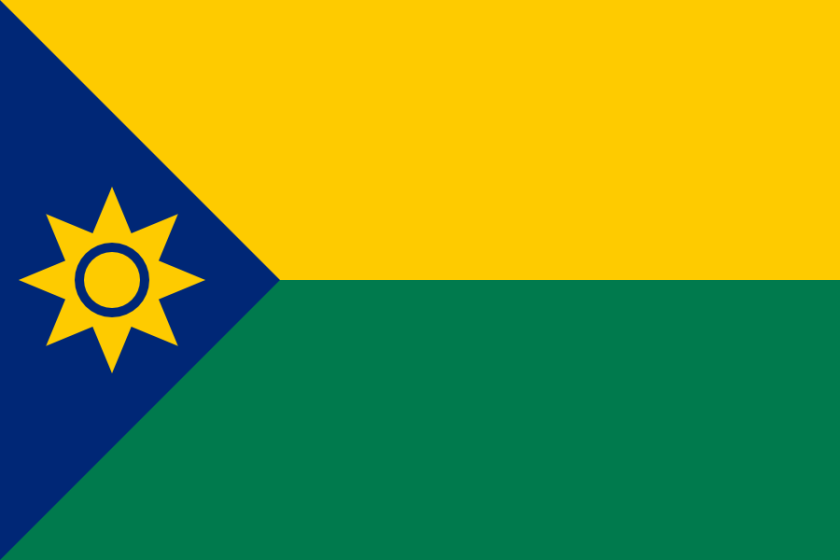 Flag proposal for Chad I made in 2009.