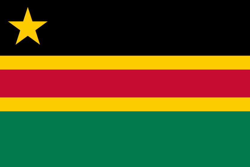 Flag proposal for the East African Federation I made in 2009.