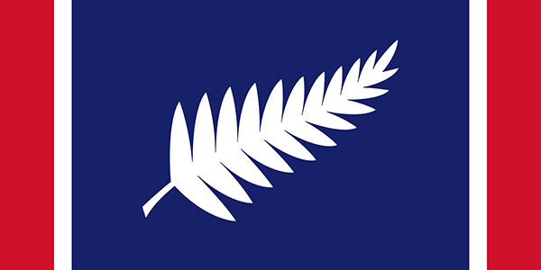 New Zealand's fern. Designed by: Chisholm Boielle