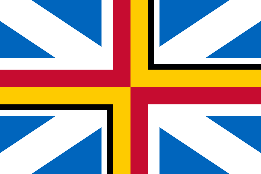 Proposed flag of the United Kingdom without Northern Ireland