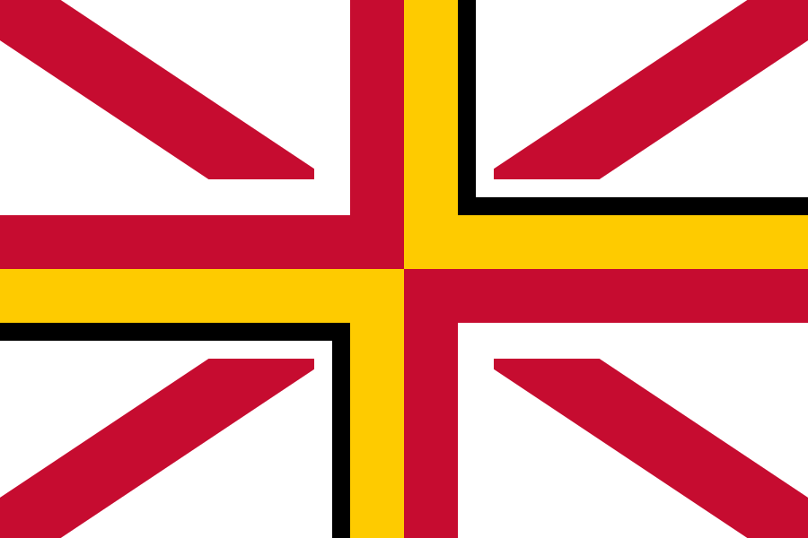 Proposed flag of the United Kingdom without Scotland