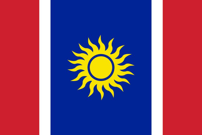 Proposed flag of New Caledonia / Drapeau proposé de la Nouvelle-Calédonie