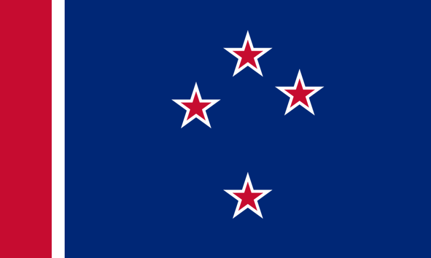 Southern Cross with Red Stripe